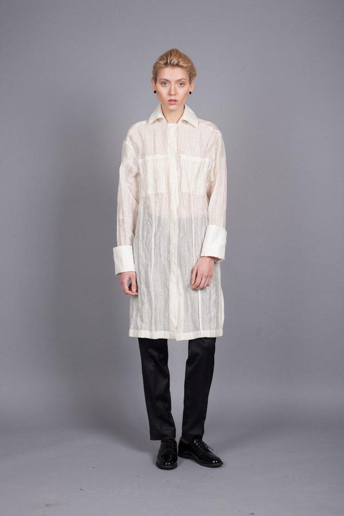 Белая рубашка Number15Concept, 3199 грн