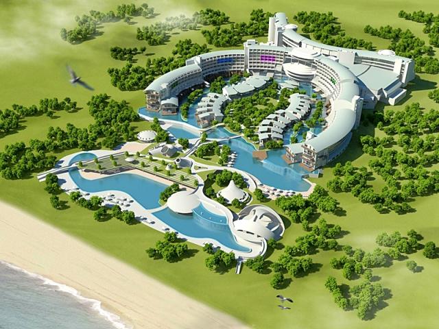 Де відчути себе космонавтом: Cornelia Diamond Resort & Golf Spa - готель, Туреччина