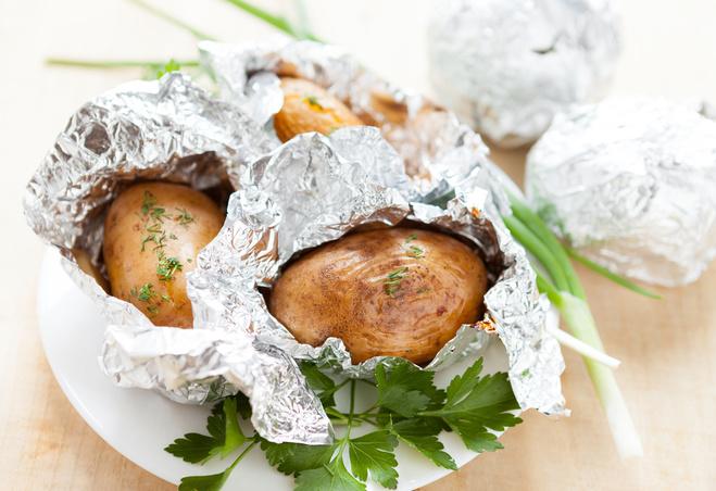 Картошка на костре рецепты