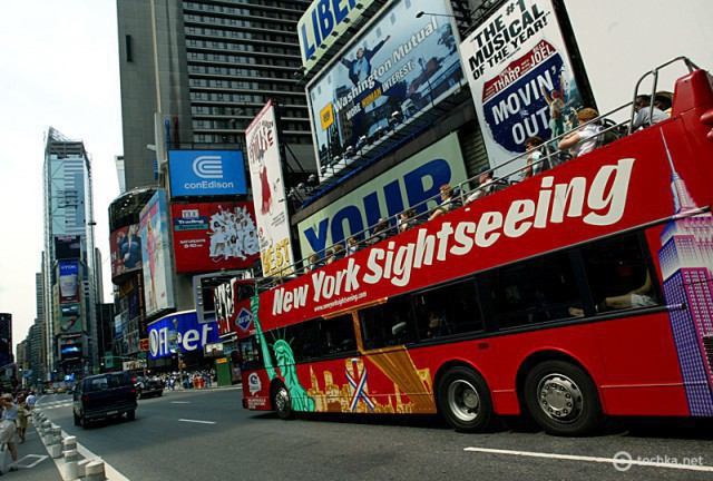 Автобусные туры по городам: Нью-Йорк, США