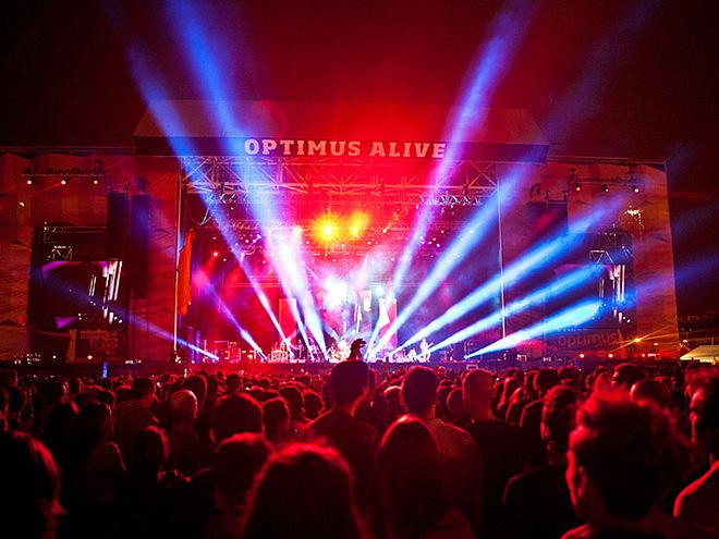 Музыкальные фестивали: Optimus Alive Festival