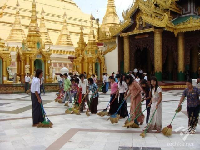 Мьянма: путешествие в страну золотых пагод