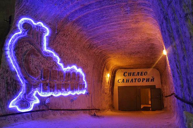 Соляные курорты Украины
