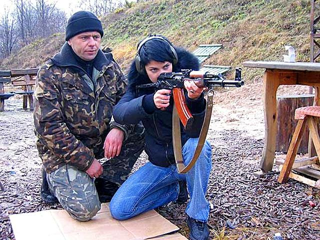 Военный туризм в Украине: компания «Сапсан»