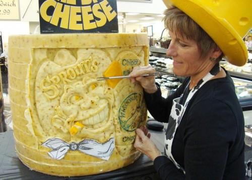 Сырное искусство