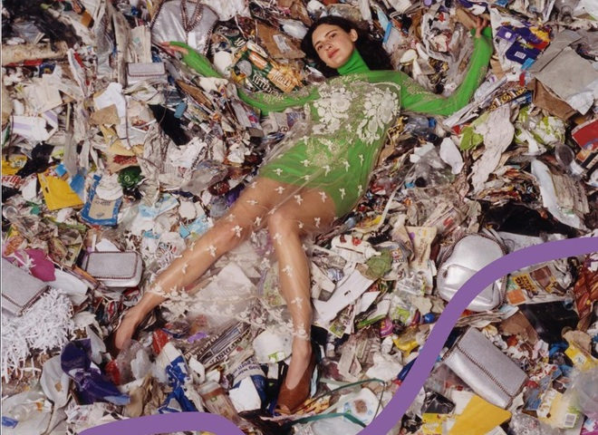 Украинка в рекламе Stella McCartney