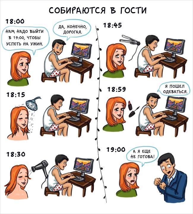 Женщины & мужчины