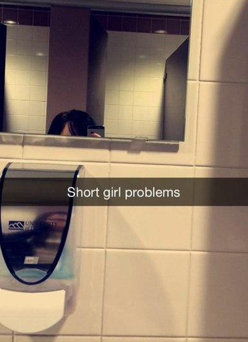 Проблемы низких девушек