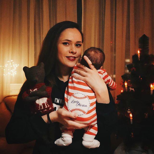 Санина с малышем