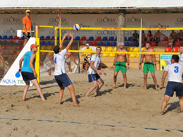 Пляжный волейбол в Ольмеке