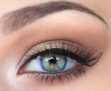 макияж глаз в стиле Victoria's Secret