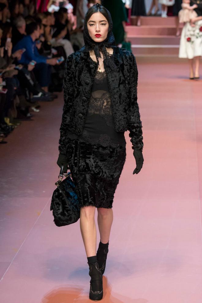 Dolce & Gabbana осень 2015