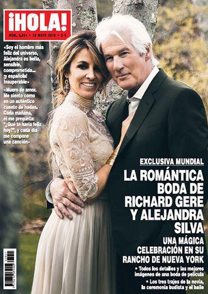 Ричард Гир свадьба