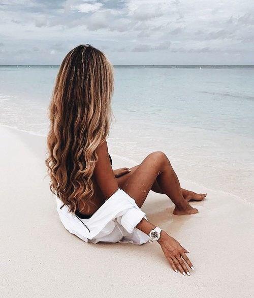 Волосы после отпуска