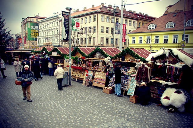 5 перших різдвяних базарів: Прага