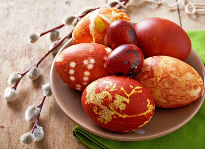 Фарбування яєць у цибулинні, Як фарбувати яйця в цибулинні