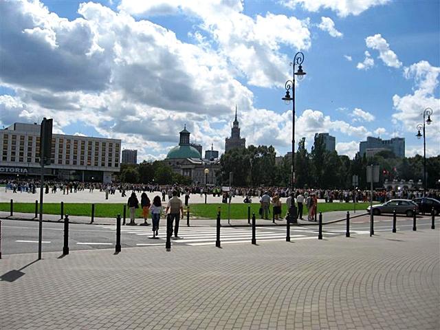 5 крупнейших городских площадей в мире: Площадь маршала Юзефа Пилсудского, Варшава, Польша