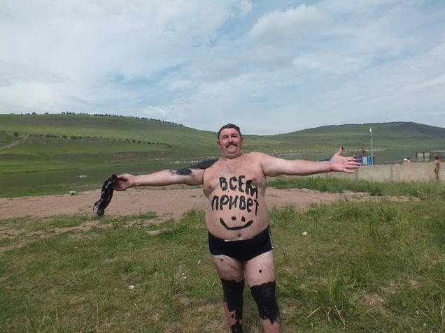 Обычные будни в России