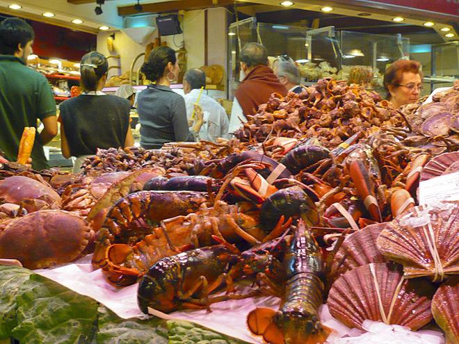 Рибні маркети Європи: El Mercado de Pescado Blanes Spain