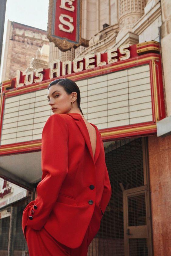 Что надеть 14 февраля: модные образы в красном цвете