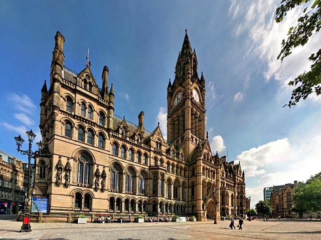 Вражаючі фото міст Туманного Альбіону: Манчестер