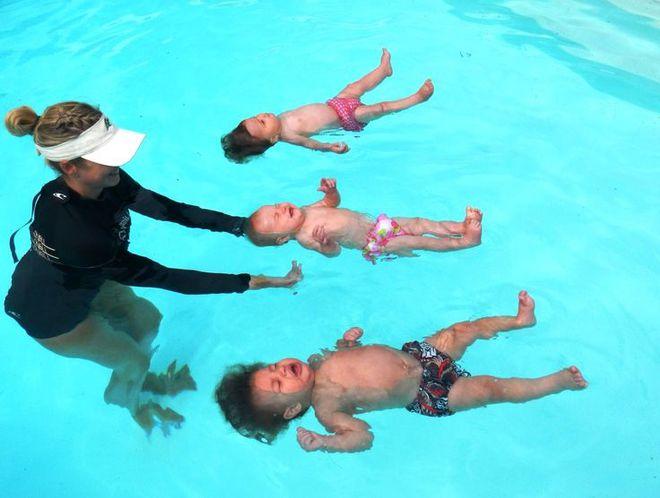 Плавання з дітьми