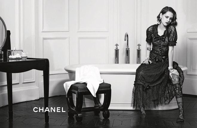 Крістен Стюарт в рекламі Chanel 2016
