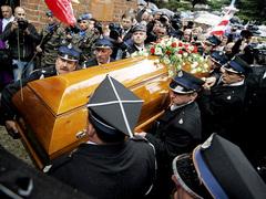 Похороны Анджея Леппера