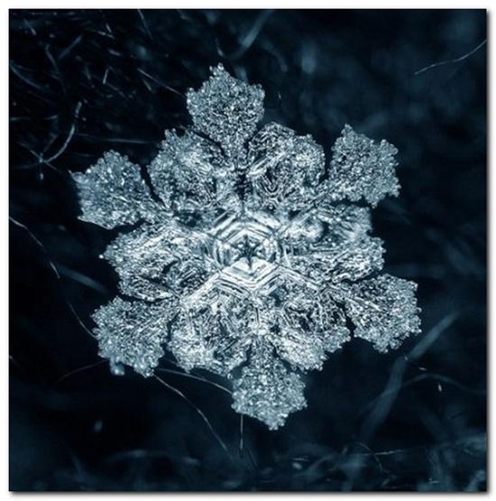 Уникальные снежинки