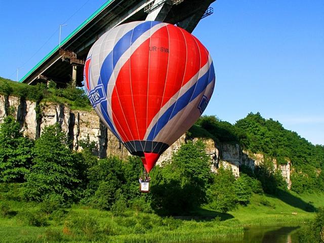 Куда поехать на майские 2012: Воздушные шары в Камянце-Подольске