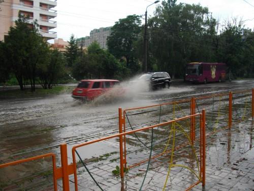 Погода в доме- Одесса тонет?