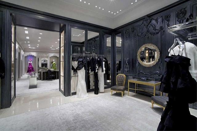 Шопинг в Париже: Бутик Christian Dior на авеню Монтень, 30