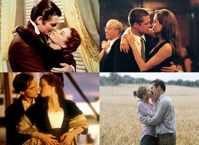 Топ-10 самых красивых кинопоцелуев