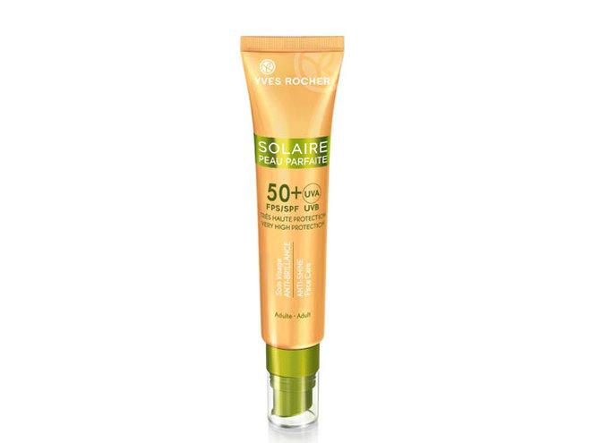 Солнцезащитный матирующий крем для лица SPF 50+ Yves Rocher