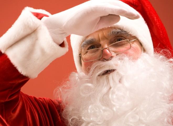 Санта Клаус прилетів!