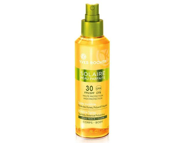 Солнцезащитное масло для тела SPF 30 Yves Rocher