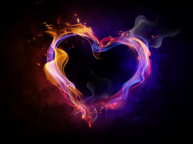 Огненные картинки на День Святого Валентина