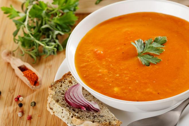Чечевичный суп: рецепт