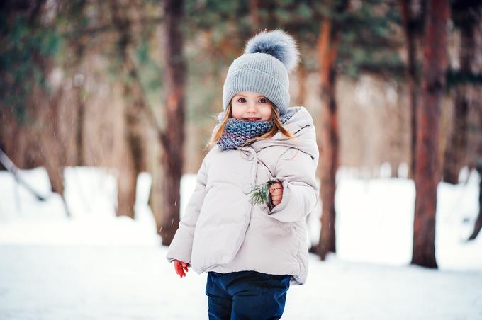 Топ-7 правил, як одягти дитину на зимову прогулянку