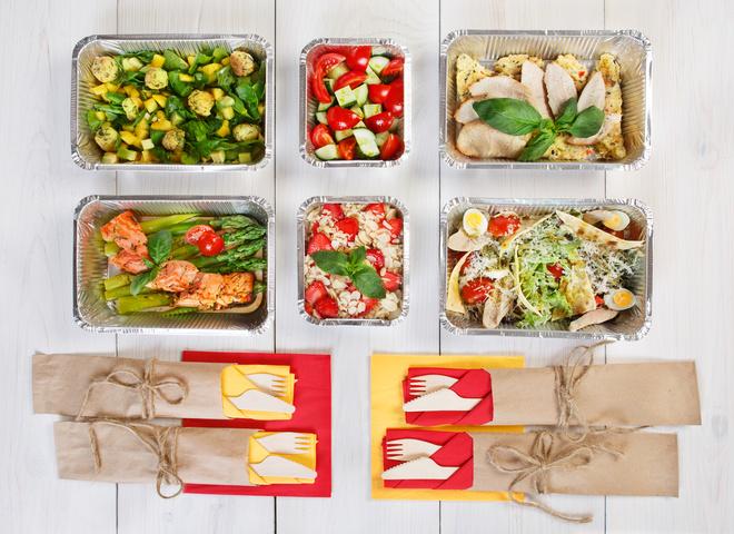 Доставка їжі в Києві