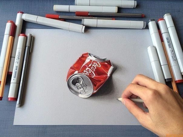 Гиперреалистичные рисунки