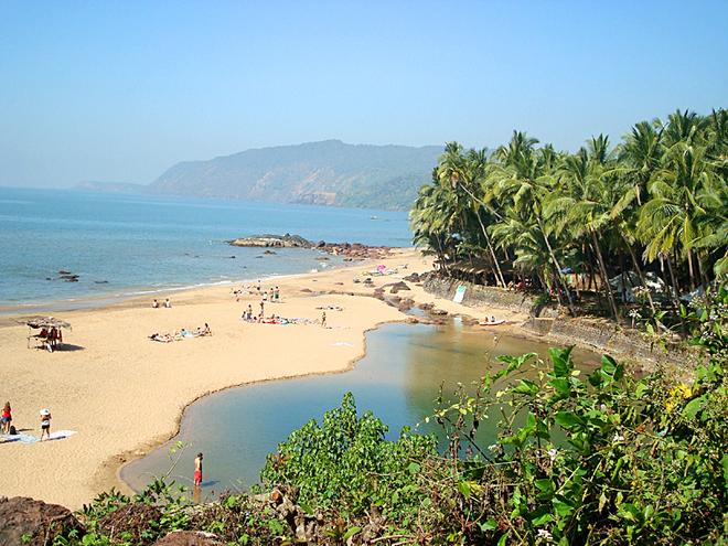 Курорти Гоа: Пляж Кола
