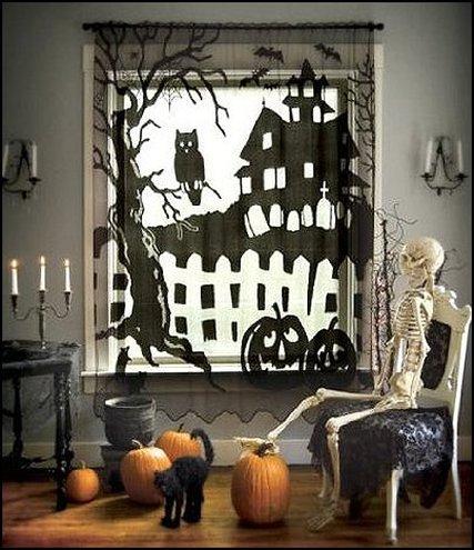 Хэллоуин декорации своими руками для своей комнаты