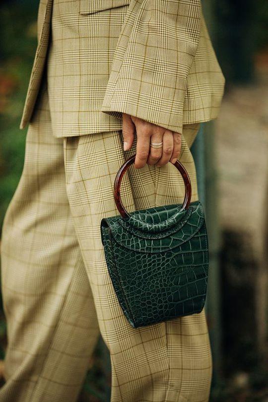 Структурированная сумка