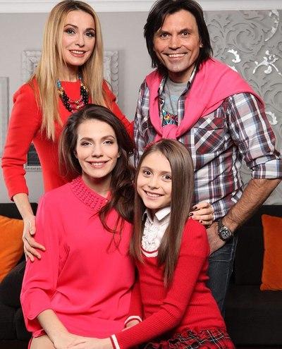 Ольга Сумська з родиною