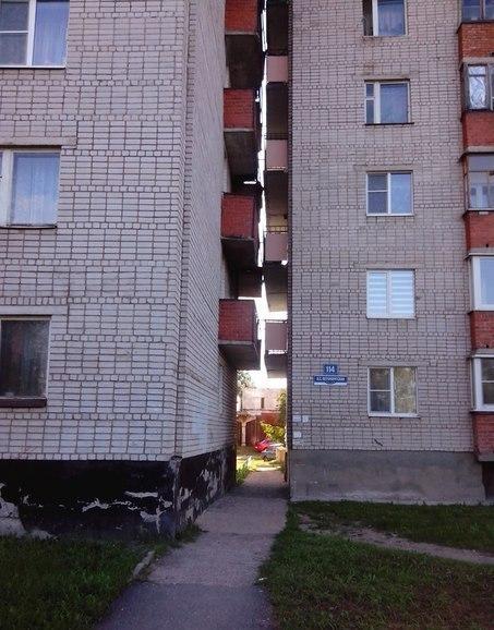 Шикарный вид с балкона