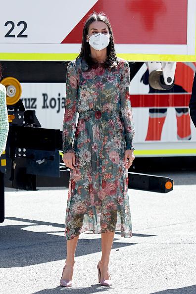 Королева Іспанії Летиція в сукні Zara