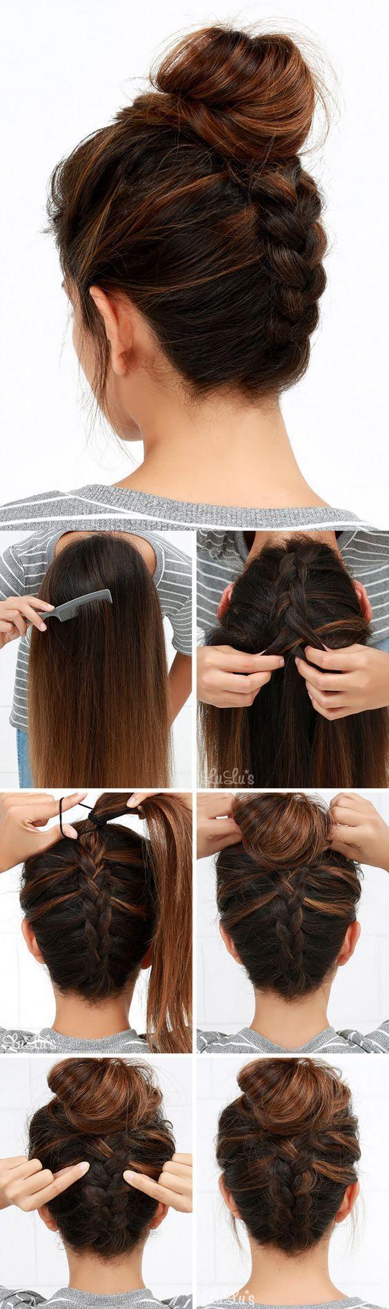 10-швидких зачісок на кожен день
