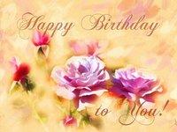Обворожительная открытка с днем рождения