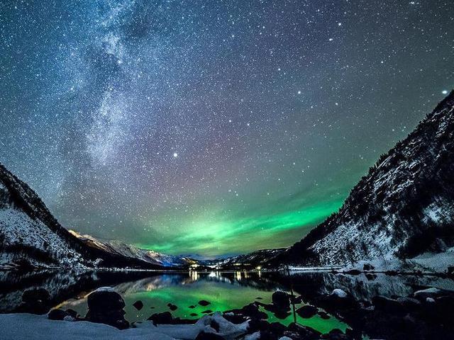 Зимняя Норвегия: удивительные фото, от которых захватывает дух